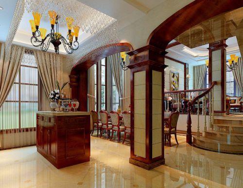 美式美式风格餐厅装修案例