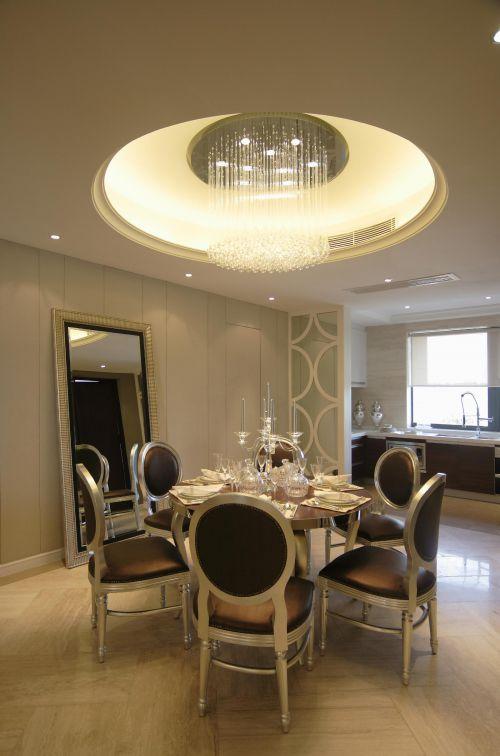 欧式简欧餐厅厨房设计方案