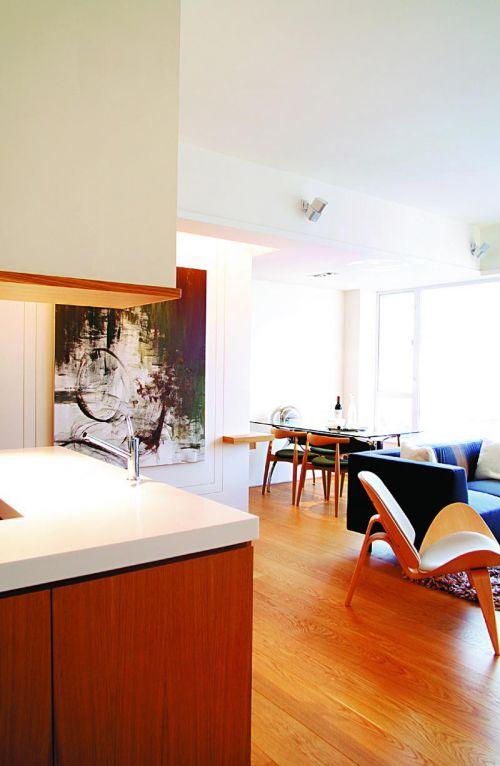 现代简约北欧宜家客厅餐厅设计案例展示