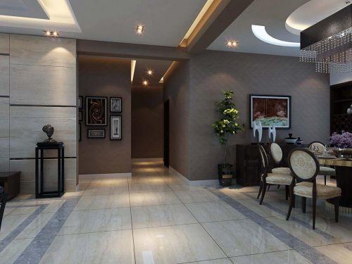 现代简约新古典餐厅走廊图片