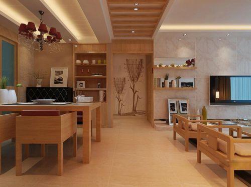 现代简约日式餐厅设计案例