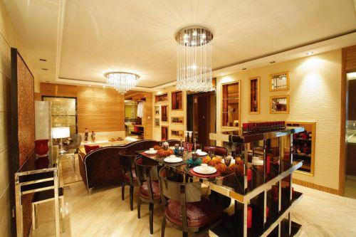 现代简约简欧餐厅装修案例