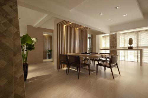 现代简约中式餐厅设计案例展示
