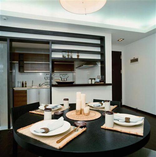 现代简约中式餐厅案例展示