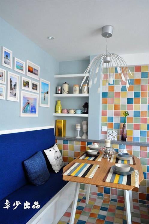 现代简约地中海餐厅设计案例展示