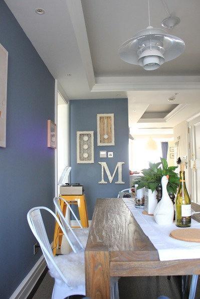 现代简约美式餐厅图片