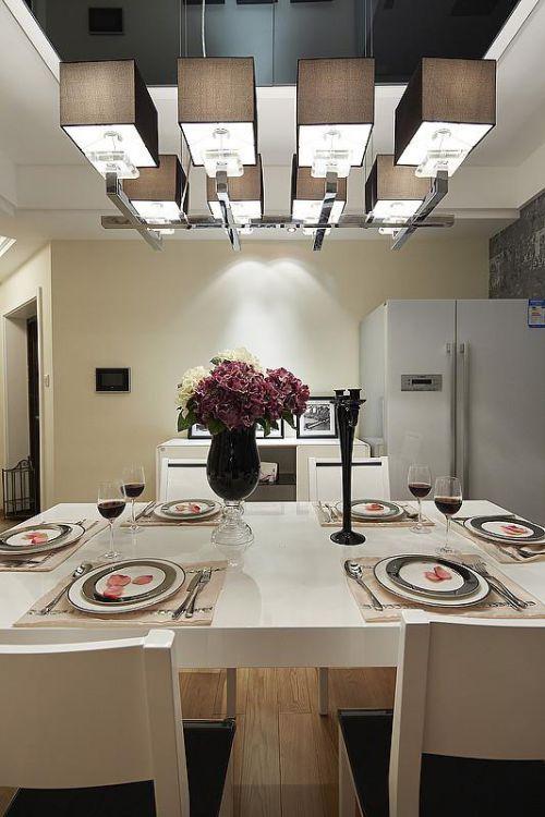 现代简约简欧餐厅装修效果展示