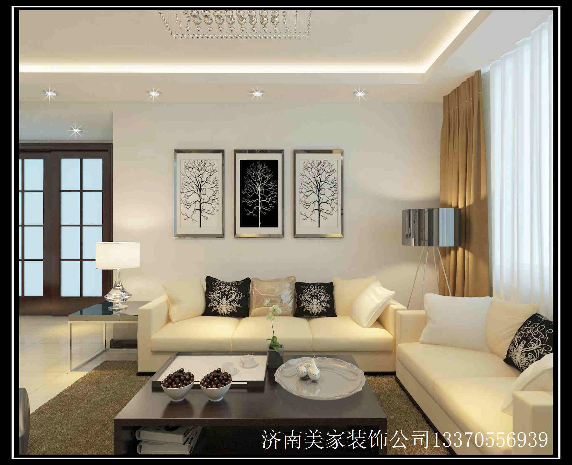 客厅电视墙颜色搭配 浅色与亮色搭配更时尚