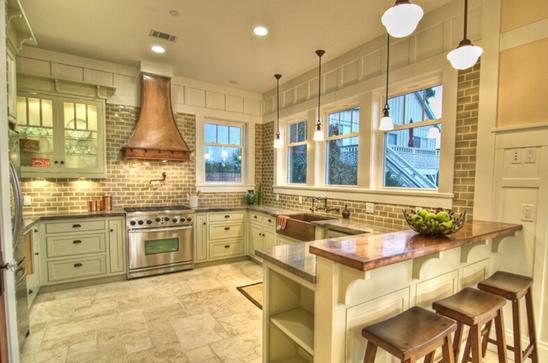 开放式厨房怎么样?浅析优缺点及安装注意事项图片