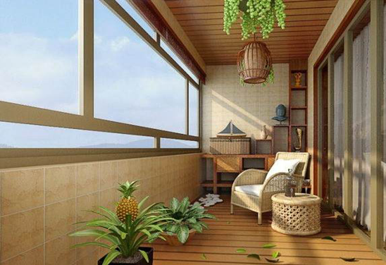 阳台方案:用绿色植物布置 阳台要省钱最好的方法,就是不要外推,直接用植物来布置。 省钱理由:阳台铺上防水木地板,再用些绿色植物来布置,既省钱又有美感。 预算花费:绿色植物加上防水木地板,顶多花1万元 以上就是装修费用不用愁 小编教您省钱攻略的全部内容,文章发布于济南装修网,更多精彩内容请继续关注装修之家网,谢谢观看!