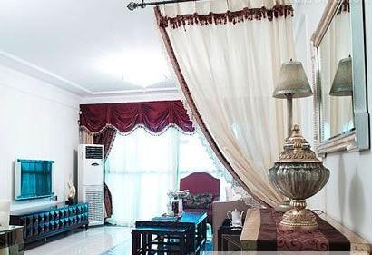 花边窗帘:饰有花边的窗帘不适合用力清洗