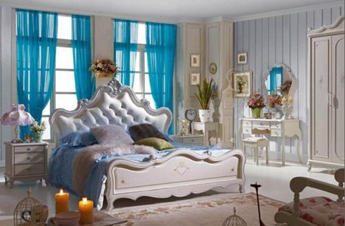 韩式风格卧室装修效果图,让我们一起来轻松打造韩式浪漫的卧