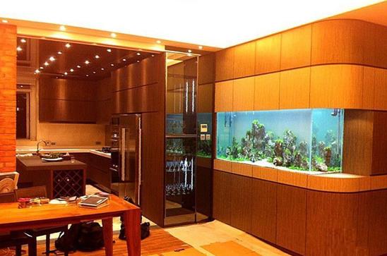 家居鱼缸设计图