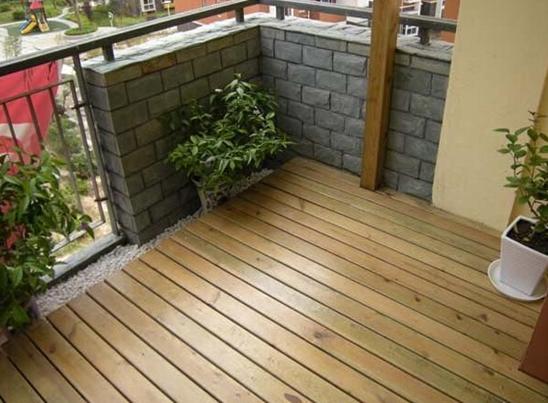 室内装修设计师也非常喜欢防腐木