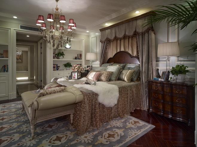 欧式风,法式风,英伦风客厅窗帘什么颜色好