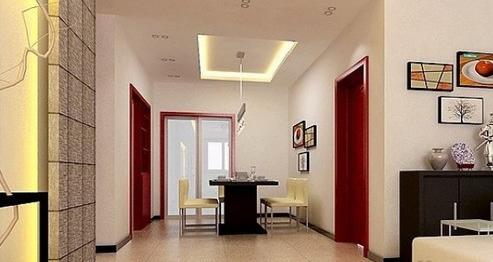 简欧客厅吊顶效果图的装修设计方案