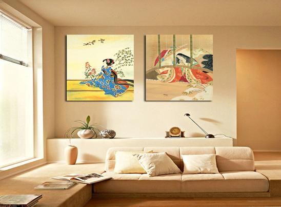欧式风格家居挂画