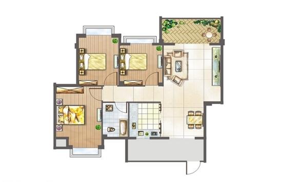 房子的户型,下面装修之家网小编将教给大家如何看