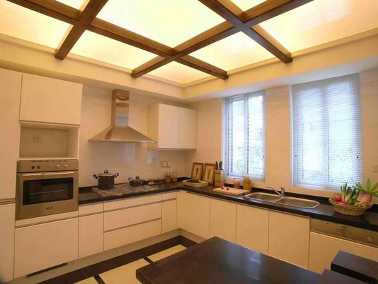 厨房吊顶如何设计?设计及空间搭配_装修之家网_新浪