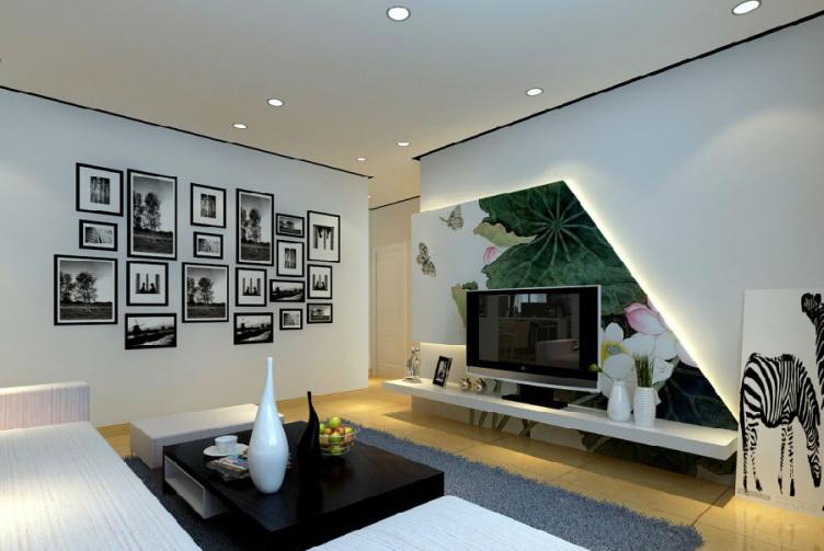小面积欠缺型户型电视背景墙设计要领