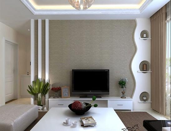 电视背景墙装修材料如何选择?