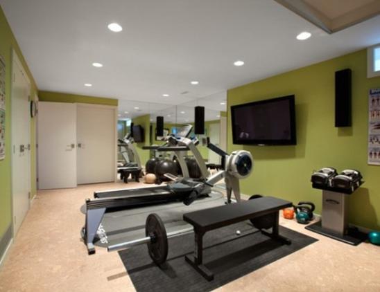 家庭健身房怎么装修好看 家庭健身房装修效果图