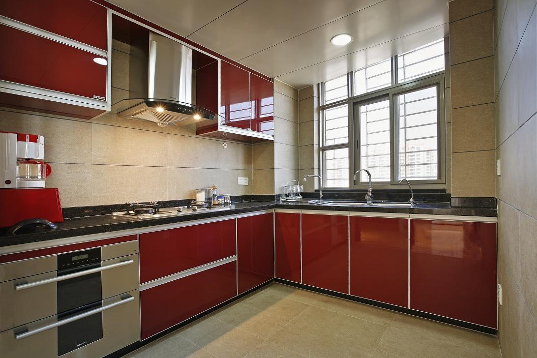 厨房柜子效果图-什么材质好 整体橱柜台面选用哪种最好
