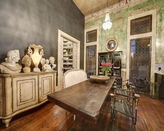 哥特式家家具手绘图片