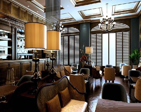 咖啡屋装修案例 咖啡屋装修效果图