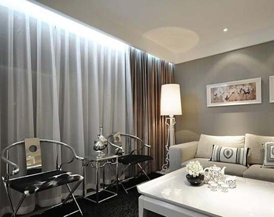 客厅窗帘风水