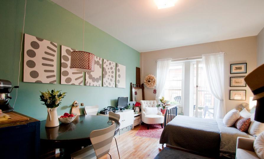 40平米单身公寓装修 两招解决空间烦恼