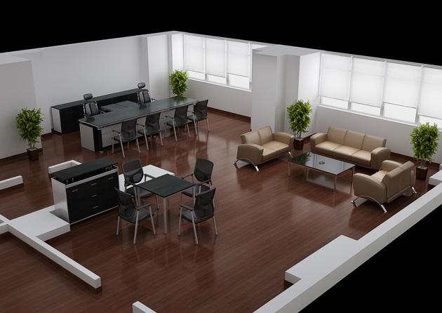 办公室沙发摆放:风水佳助力事业旺_装修之家网