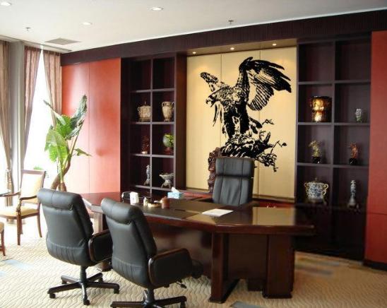 办公室背景墙设计方案