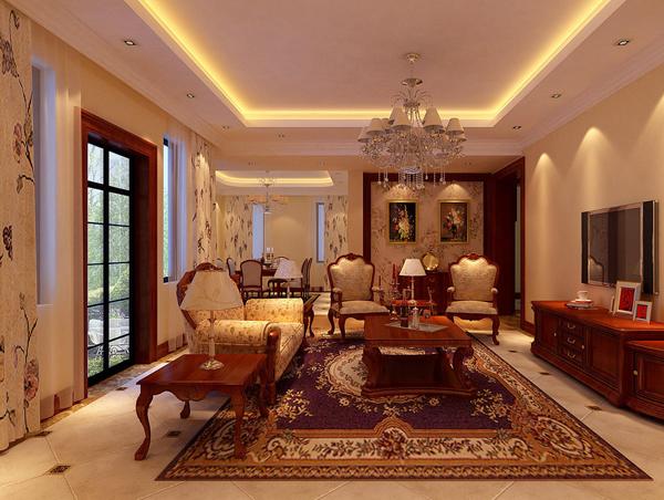 一般中式装修中,地面是以铺地板或地砖为主,但是在欧式客厅装修,地面以铺地毯为主。淡雅的地毯图案和欧式家具的搭配相得益彰,更能突出欧式古典雅致的气质,给人以宁静和谐的感觉。   注意事项二:挂画和壁炉   欧式客厅装修的一大特色就是挂画和壁炉,是缺一不可的。挂画可以是金属框边的抽象画或摄影作品,也可以是一些西方名画的仿制品。挂画可以营造浓郁的艺术氛围,体现主人的艺术修养。   壁炉是欧式风格的象征。既然要做欧式装修风格,壁炉就一定不能少,可以做一个真的,也可以只做一个造型,做装饰品,营造西方生活的情调。