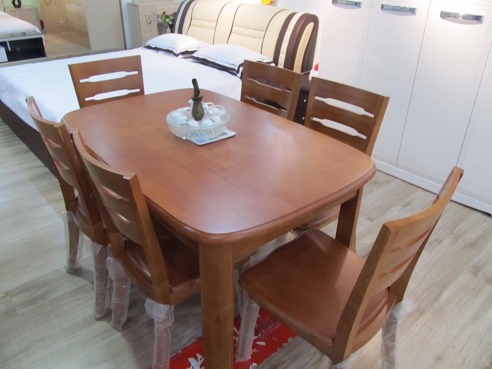 看完涨姿势的实木餐桌选购