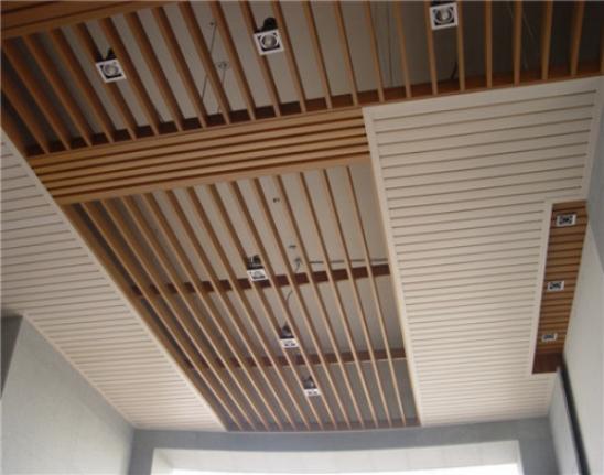 生态木吊顶图片赏析 生态木吊顶效果图 装修之家网