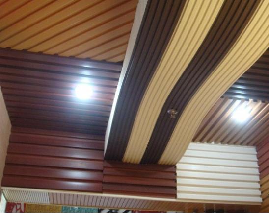 生态木吊顶图片赏析 生态木吊顶效果图