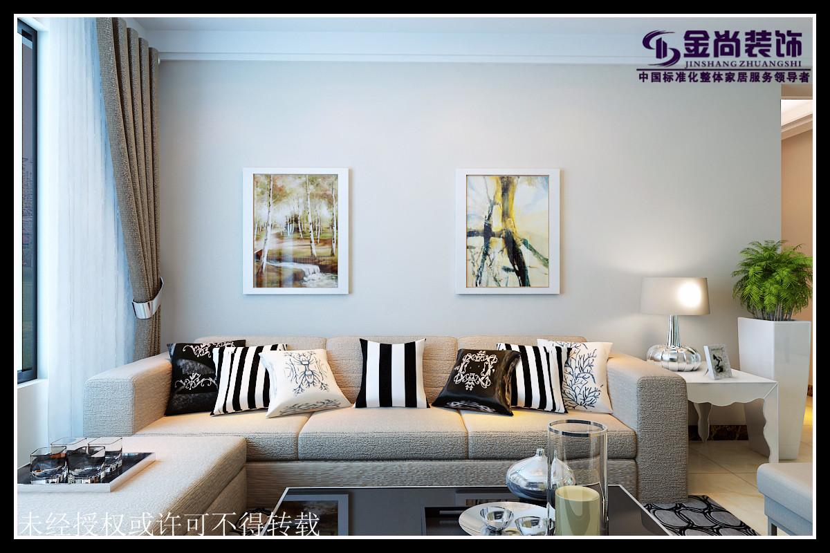 金尚装饰祥泰城现代简约设计效果图高清图片