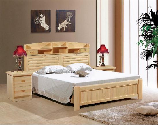 松木床耐用吗