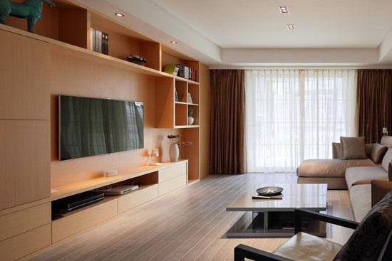 电视柜尺寸:卧室和客厅常见尺寸集锦