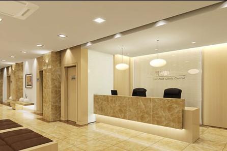 设计的注意事项        简洁风格的前台办公桌一般适用于小型公司和