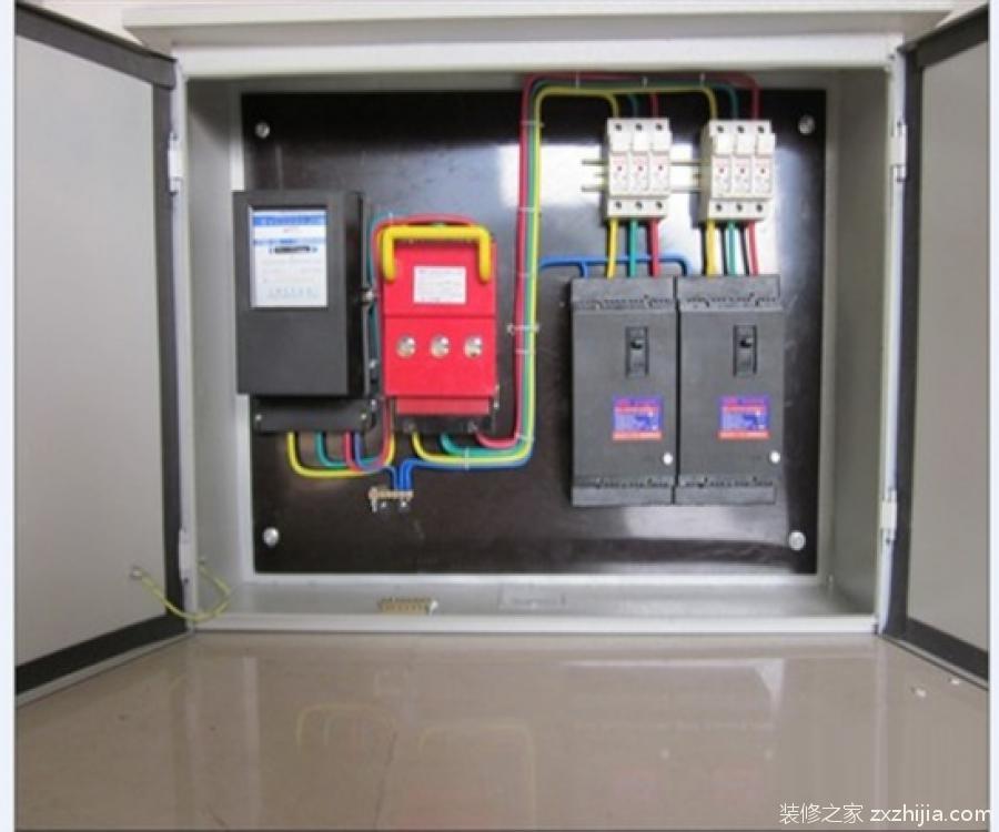 家庭配电箱如何安装 家庭配电箱接线图