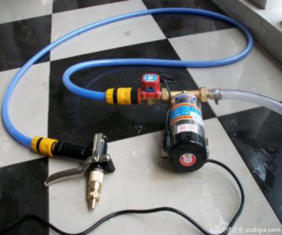 家用增压泵安装方法
