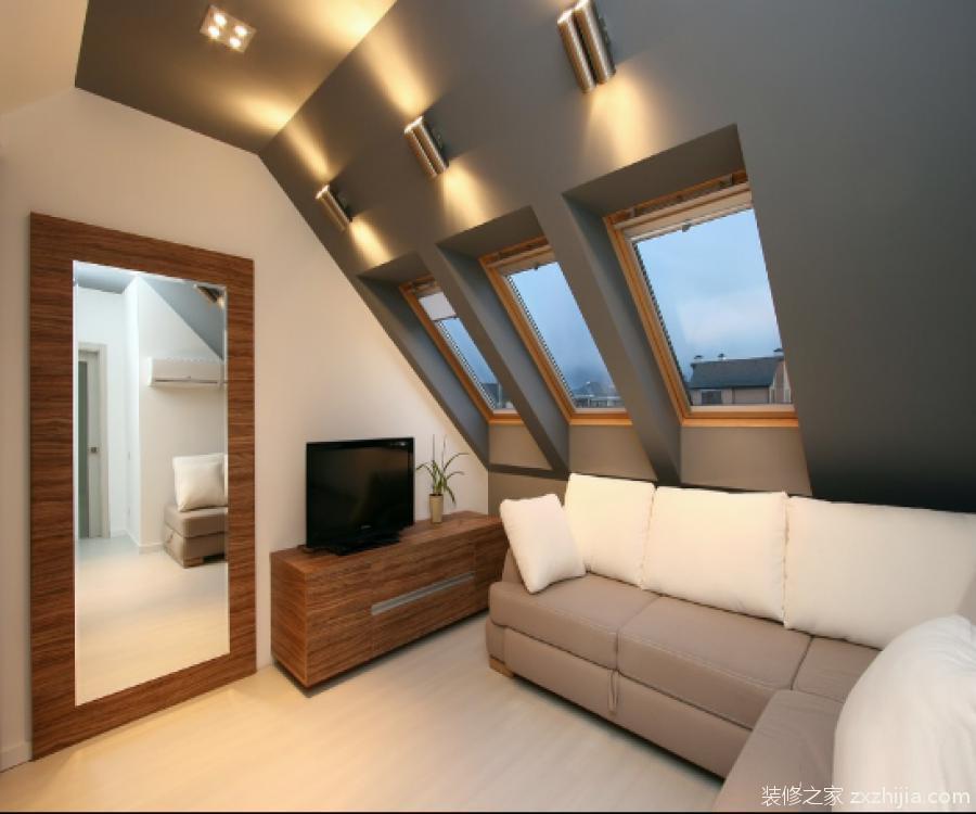 斜顶阁楼如何装修设计?斜顶阁楼装修效果图