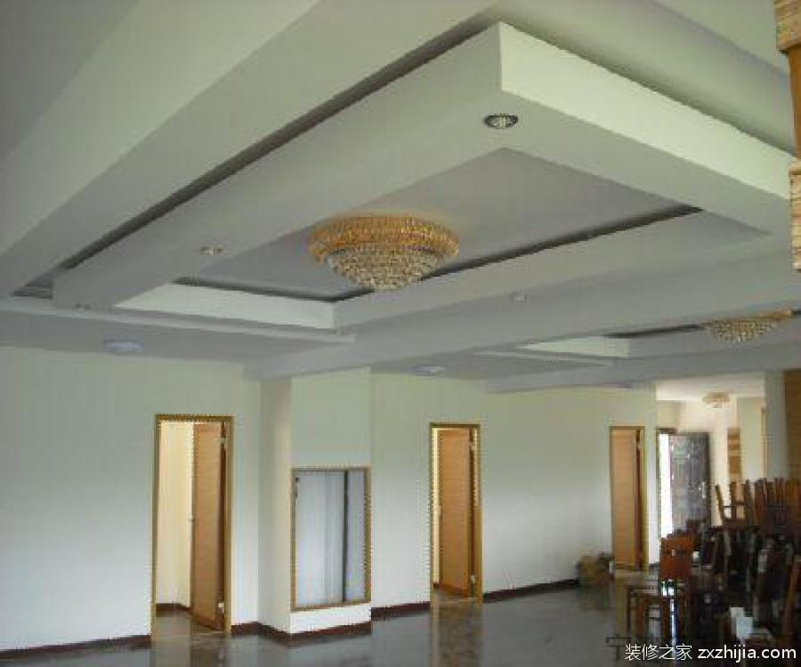 石膏板吊顶安装方法