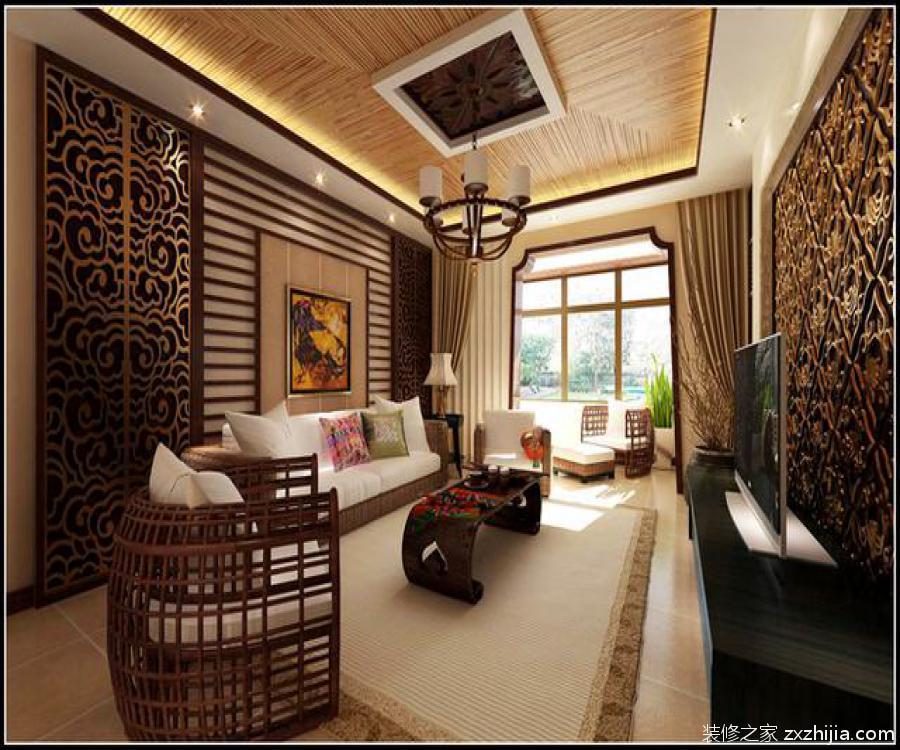 东南亚风格装修效果图