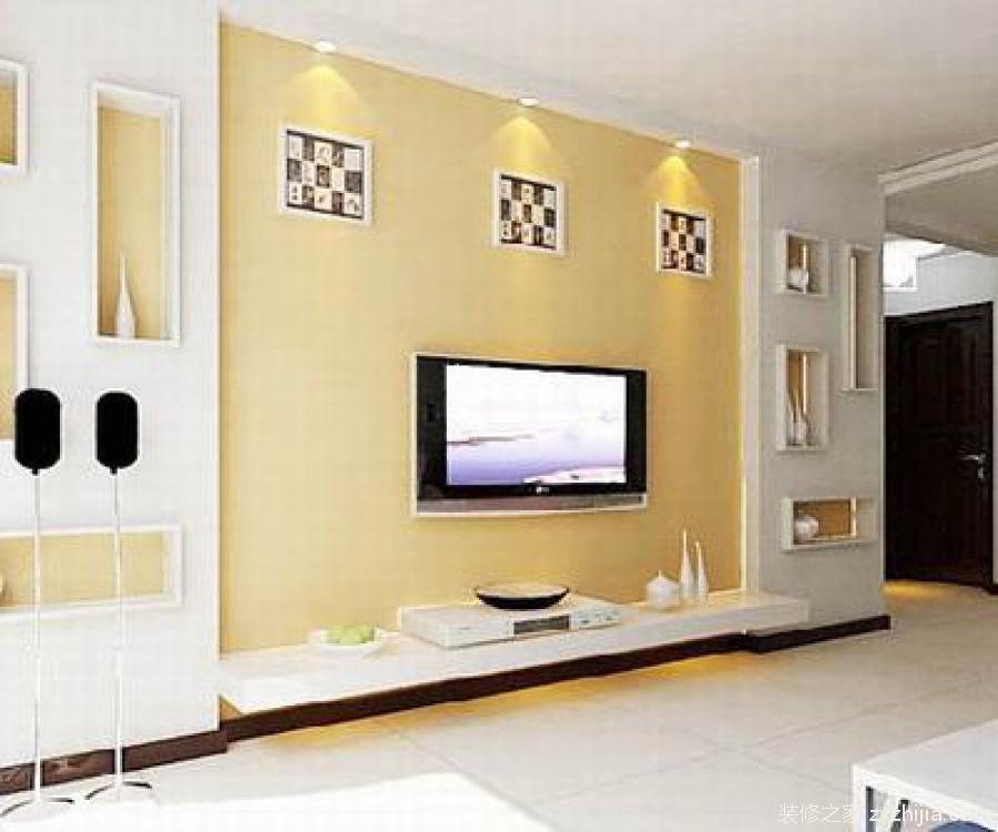 用它们做电视背景墙,能起到很好的点缀效果