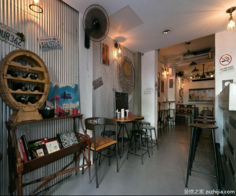 享受愜意小酌時光 70平小型酒吧設計效果圖_裝修之家網