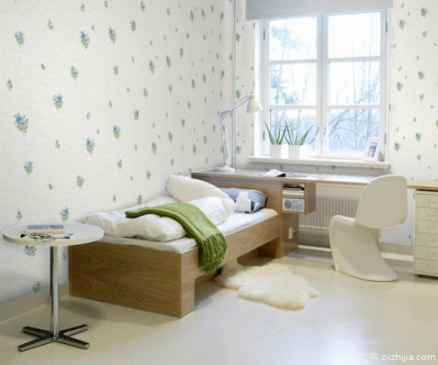 卧室壁纸装修效果图图片