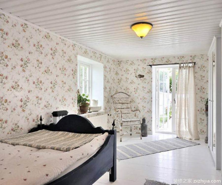卧室壁纸装修